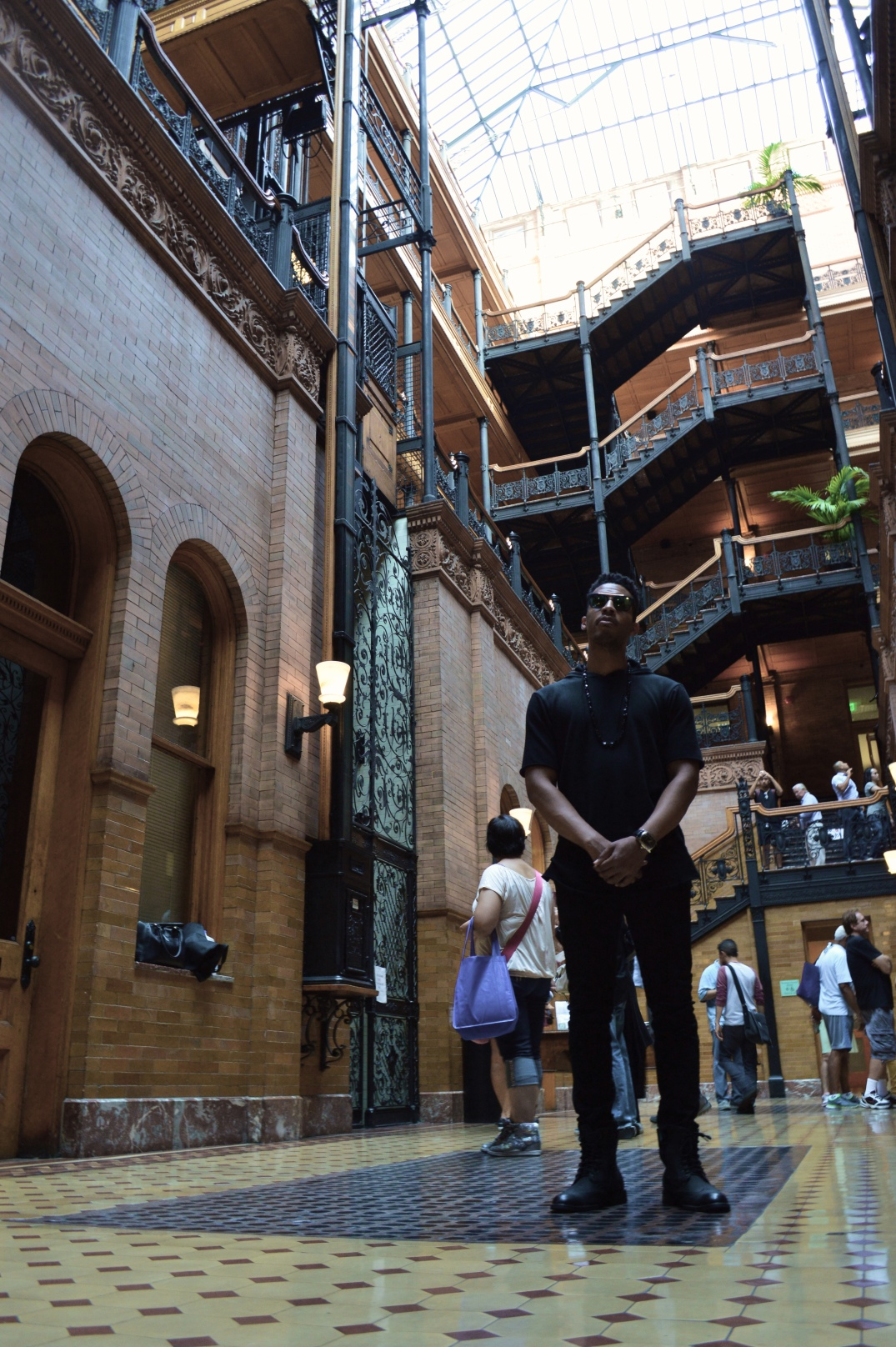 A stop on most walking tours of Downtown Los Angeles, the historic Bradbury Building is a stunning example of late 1800 american architecture.