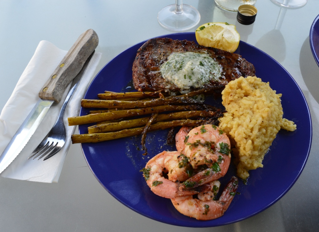 When you want to impress, go with a surf n' turf!