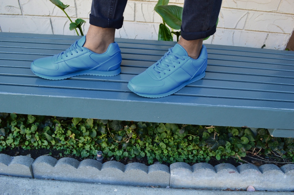 These beast right here steal the show. Comfortable, bright, and cool as Polar Bear Poo. I found these ASOS kicks on line on sale for about $25.00